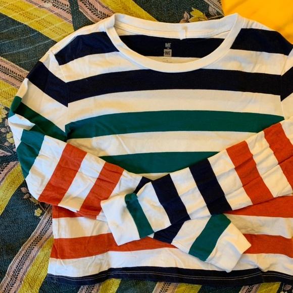 PacSun Tops - PacSun Striped Crop Top